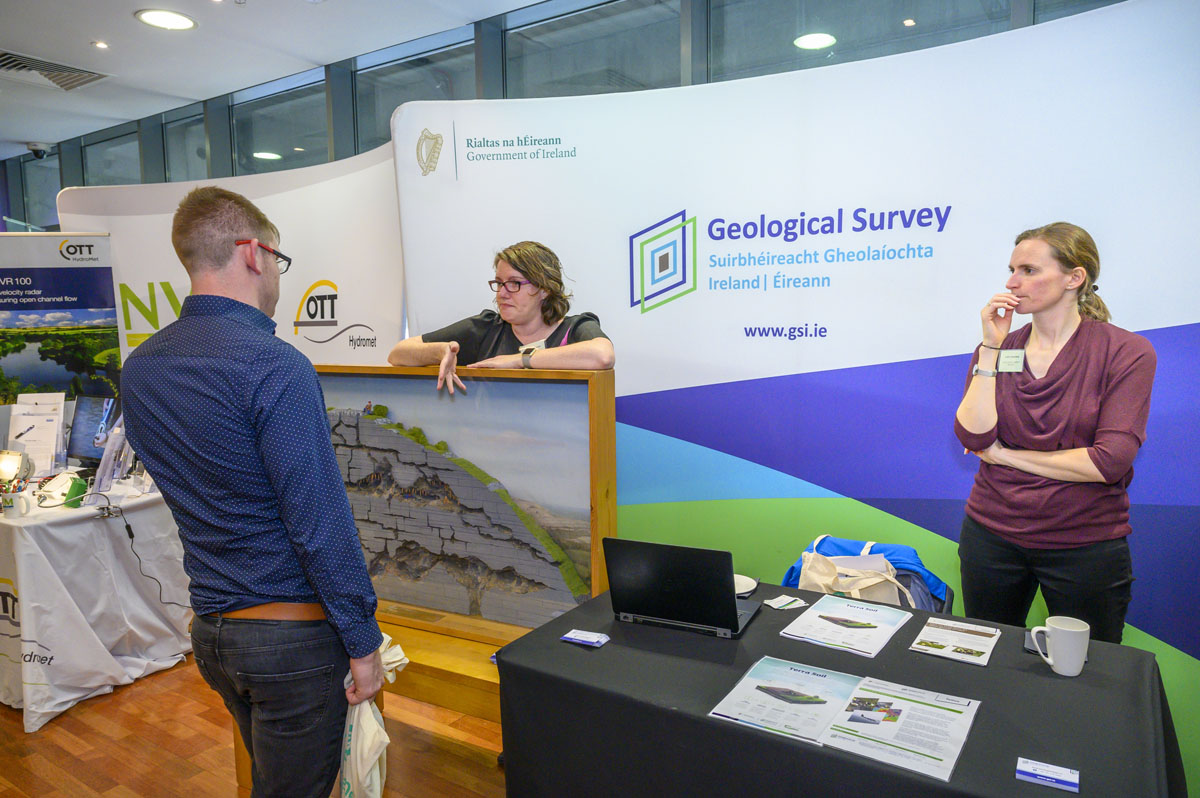 Geological Survey Stand